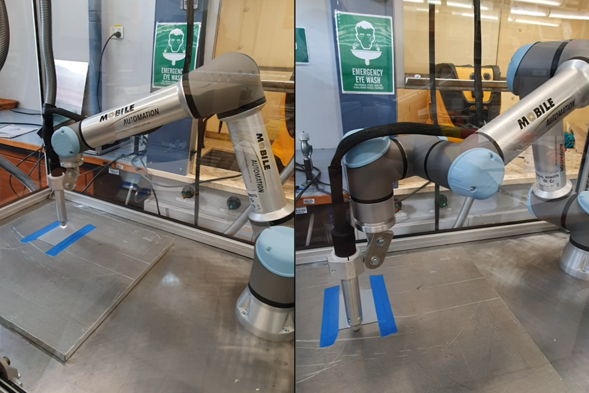 Universal Robot Pick & Place Application